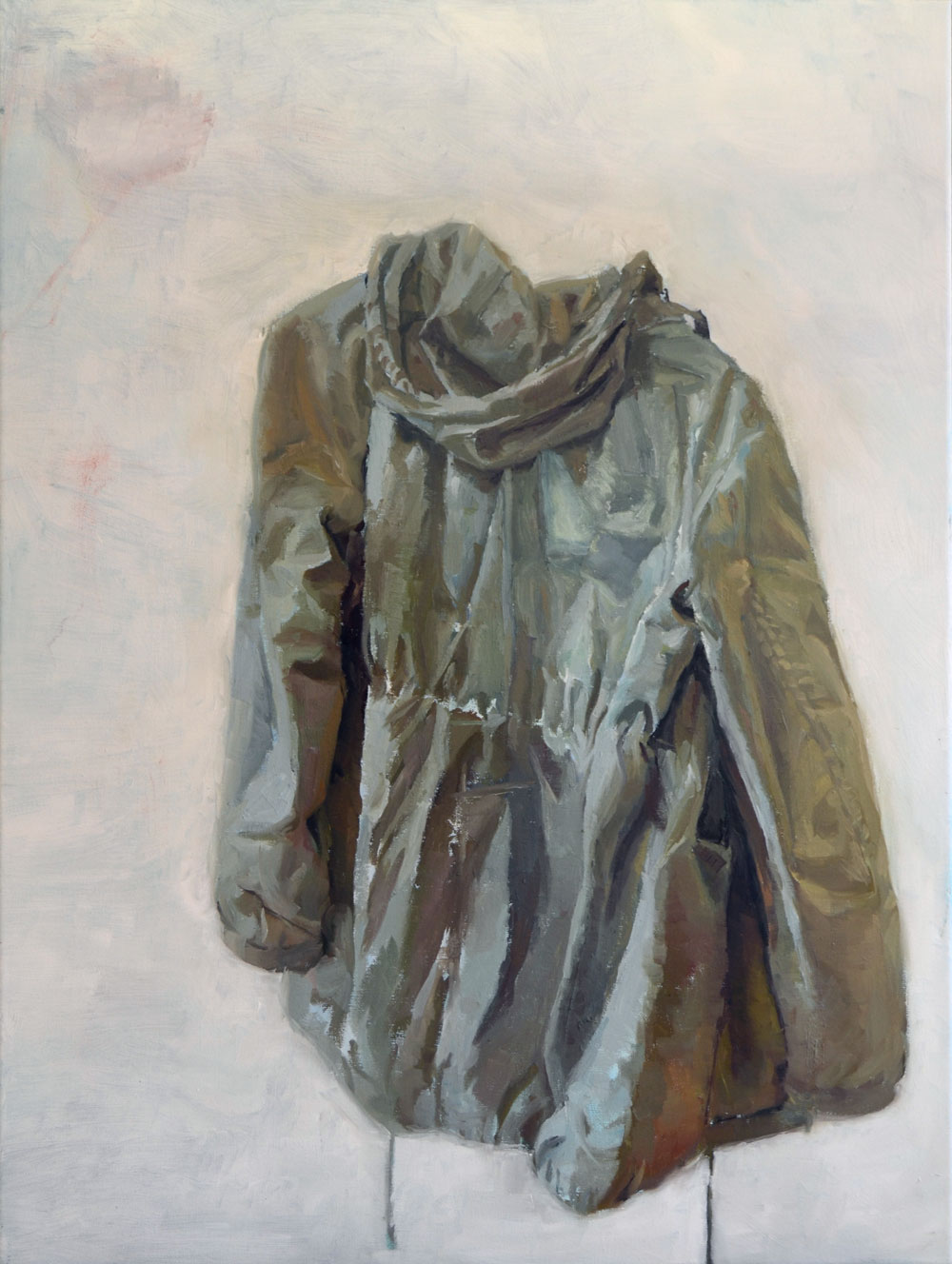 Jacket / 2016 / oil on canvas / 80cm x 60cm