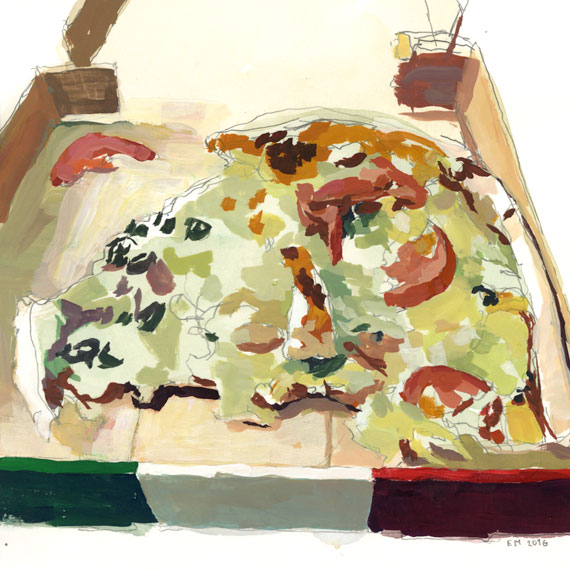 Pizza sketch 2